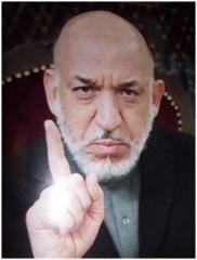 حا مد کرزی رئیس جمهور افغانستان