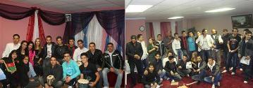 در عکس مهمانان بر نامه روز شکر گزاری خانه فرهنگی مولانا