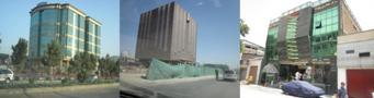 تصاویر از ساحات شهر نو ، چهار راهی ملک اضغر ، تایمنی و خیرخانه،   شهر کابل