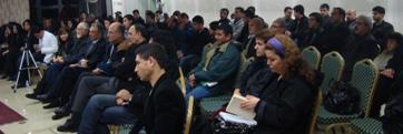 مهمانان کمیته جوانان خانه فرهنگی مولانا در محفل شب نشنی جوانان