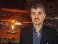 امان معاشر در جریان افتتاح المپیک