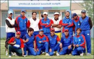 اعضای تیم ملی کرکت افغانستان