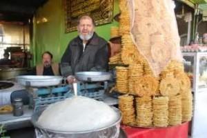 دکان جلبی وماهی و علیم پزی