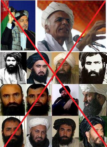 مردم قهرمان افغانستان چنین کابینه ای را قبول ندارند و بالایش چلیپا میکشند و خواهند کشید  ( ۲۴ ساعت )