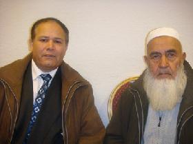 محترم پروفیسور عبدالله بختانی خدمتگار و  الجاج امین الدین سعیدی سعید افغانی