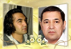 محترم محمد نعیم جوهر و محترم محمود امپراطور