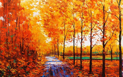 autumn-trees-oil-painting-nature
