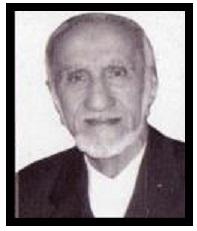 شادروان استاد حاجی محمد کاظمی شاعر و نویسنده