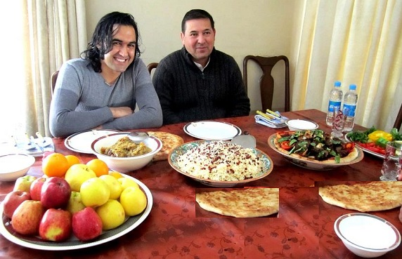 محترم محمدنعیم جوهر و محترم احمد محمود امپراطور