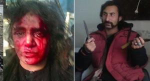 این نامرد این خانم بیگناه را به جرم سوختن قرآن شریف به قتل رساند و بعدا آورا آتش زد. لعت به چنین و حشی . ( ۲۴ ساعت )