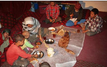 افطار در کابل