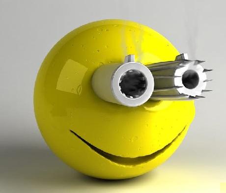 لبخند تفنگ
