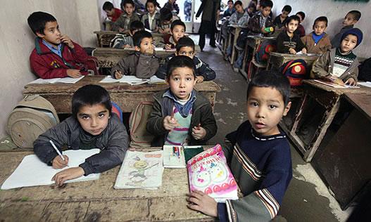 کودکان افغان در مکاتب  ایران